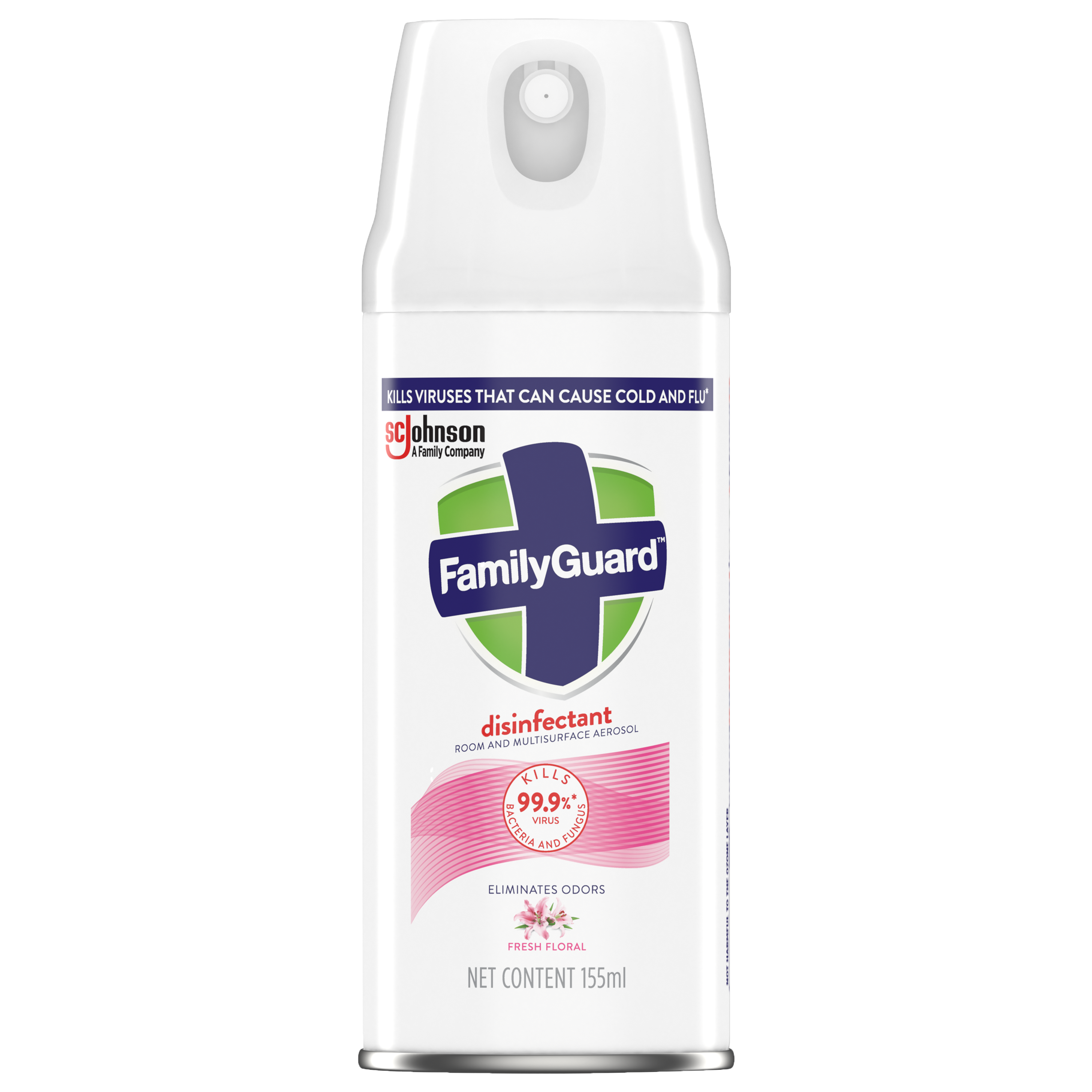 FamilyGuard Aerosol Disinfectant Fresh Floral 155 mL