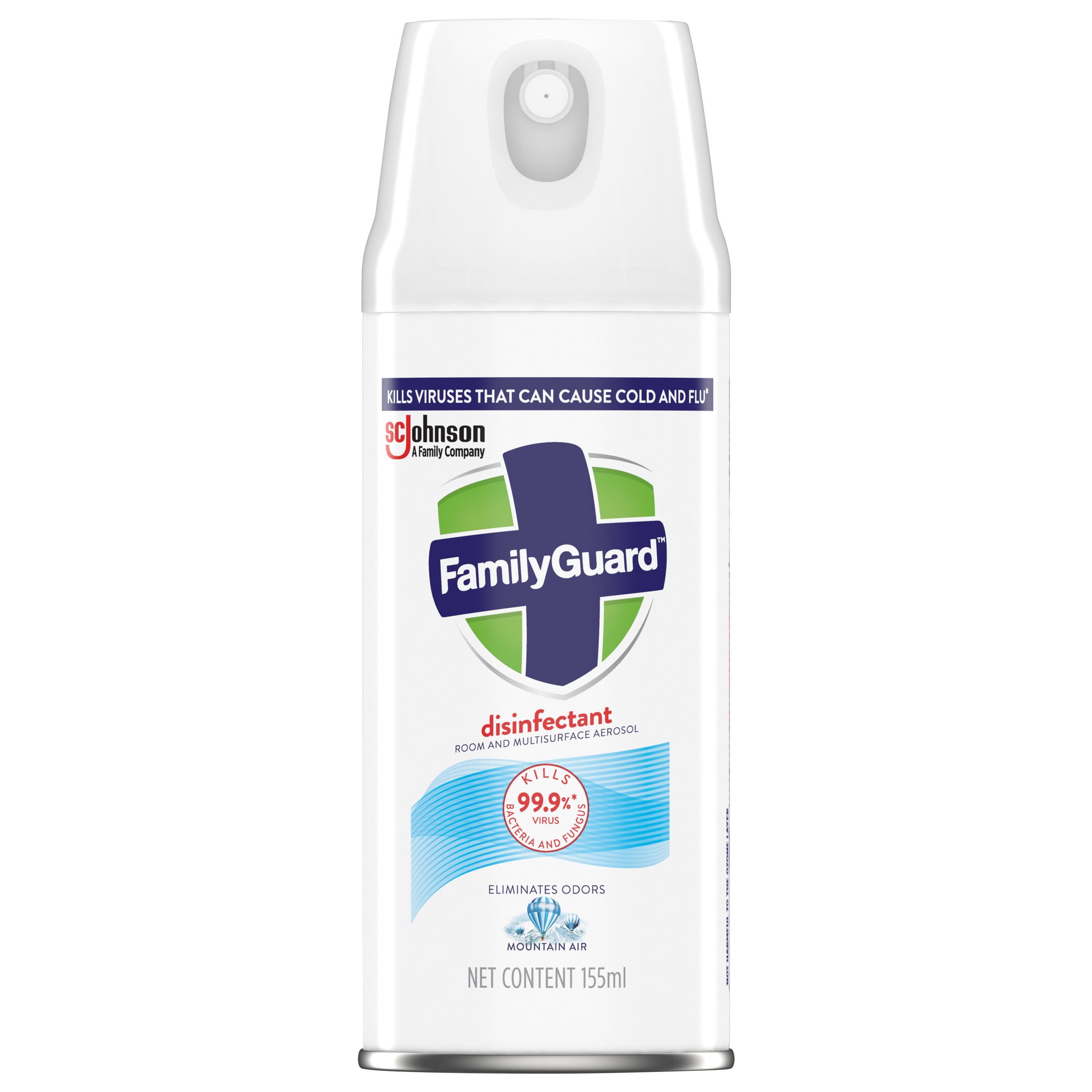 FamilyGuard Aerosol Disinfectant Mountain Air 155 mL