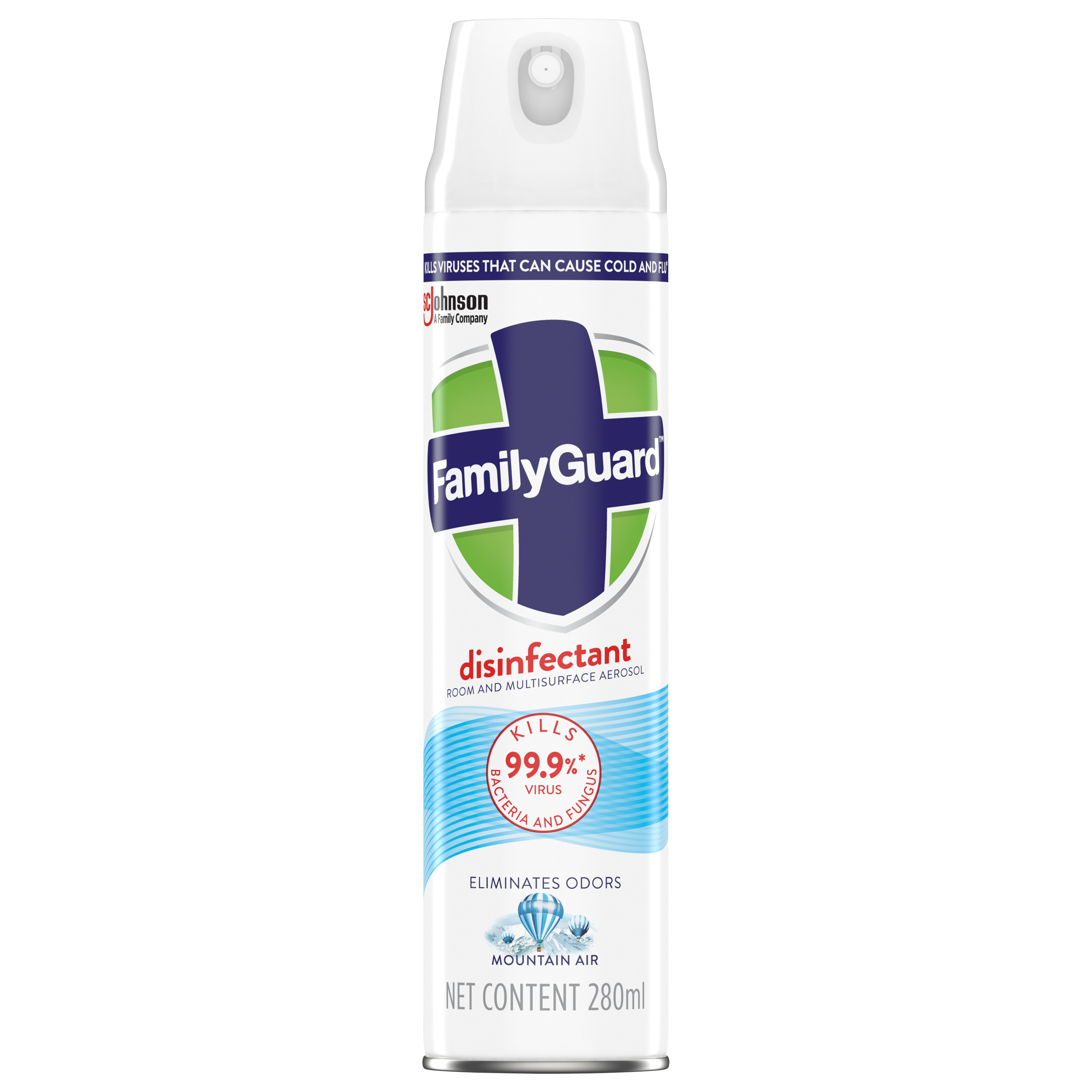 FamilyGuard Aerosol Disinfectant Mountain Air 280 mL